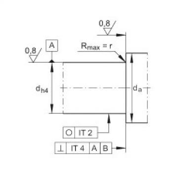 Axial angular contact ball bearings - ZKLN2557-2RS-XL