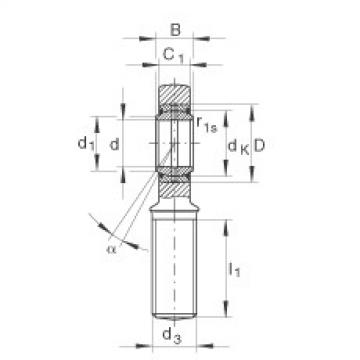 Rod ends - GAL25-DO