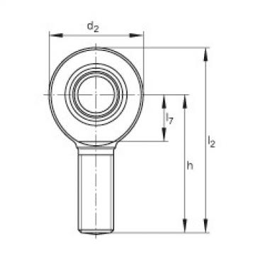 Rod ends - GAL8-DO
