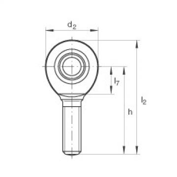 Rod ends - GAL60-UK-2RS