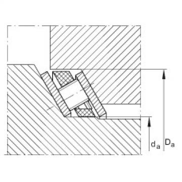 Axial angular contact roller bearings - AXS8599