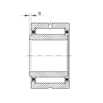 Needle roller bearings - NKI22/16-XL