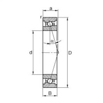 Spindle bearings - HS7001-C-T-P4S