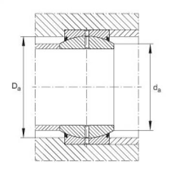 Radial spherical plain bearings - GE17-DO