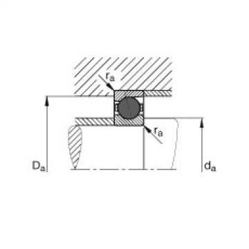 Spindle bearings - HCB71917-E-T-P4S
