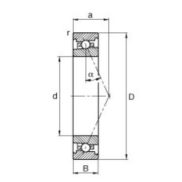 Spindle bearings - HS7018-E-T-P4S