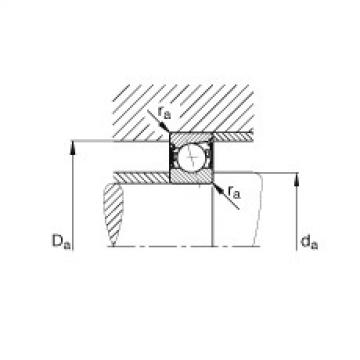 Spindle bearings - B7019-E-2RSD-T-P4S