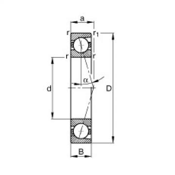 Spindle bearings - B7244-C-T-P4S