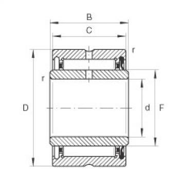 Needle roller bearings - NA4906-RSR-XL