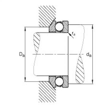 Axial deep groove ball bearings - 53244-MP