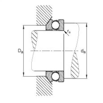 Axial deep groove ball bearings - 53338-MP