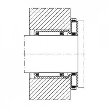 Axial needle roller bearings - AXW17