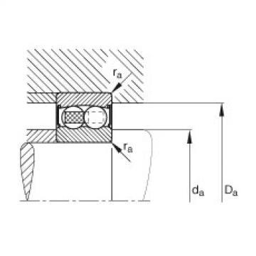 Self-aligning ball bearings - 2214-2RS-TVH