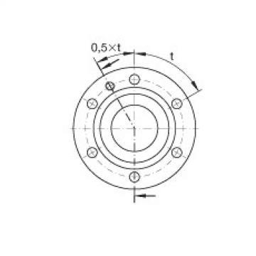 Axial angular contact ball bearings - ZKLF2575-2RS-PE