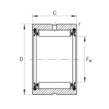 Needle roller bearings - RNA4901-2RSR-XL
