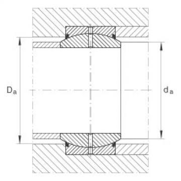 Radial spherical plain bearings - GE300-DO-2RS