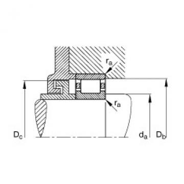 Cylindrical roller bearings - N317-E-XL-M1