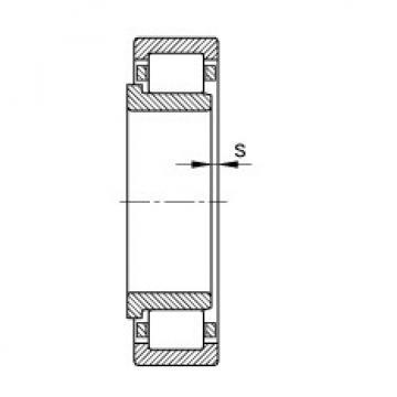 Cylindrical roller bearings - NJ203-E-XL-TVP2