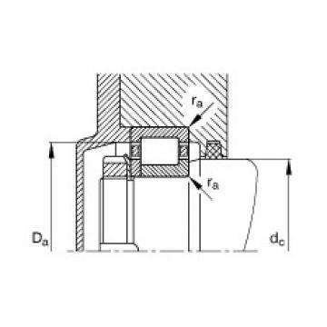 Cylindrical roller bearings - NJ2309-E-XL-TVP2 + HJ2309-E
