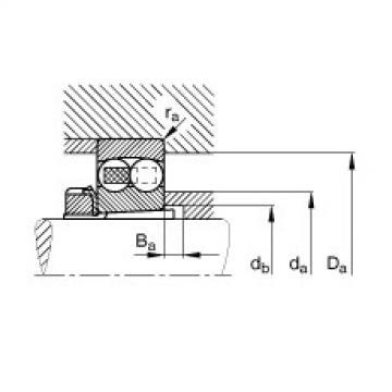 Self-aligning ball bearings - 1306-K-TVH-C3 + H306