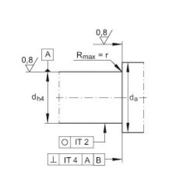 Axial angular contact ball bearings - ZKLF2068-2RS-2AP-XL