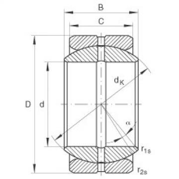 Radial spherical plain bearings - GE25-ZO