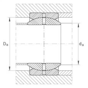 Radial spherical plain bearings - GE76-ZO