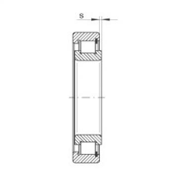 Cylindrical roller bearings - SL182917-XL