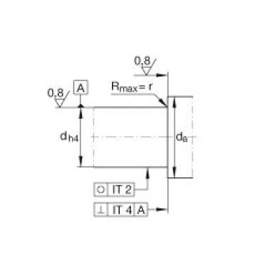 Axial angular contact ball bearings - BSB3062-2Z-SU