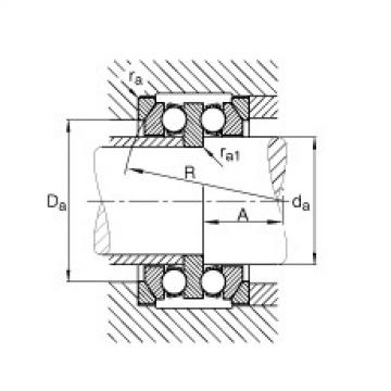Axial deep groove ball bearings - 54320 + U320