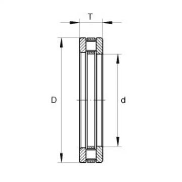 Axial cylindrical roller bearings - RTL44