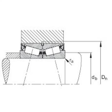 Tapered roller bearings - JK0S080-A