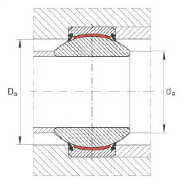 Radial spherical plain bearings - GE30-FW-2RS