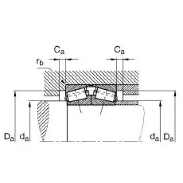 Tapered roller bearings - 32956-N11CA