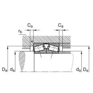Tapered roller bearings - 32968-N11CA-VA240-300