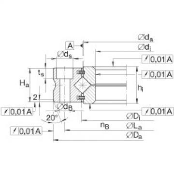 Crossed roller bearings - XV60