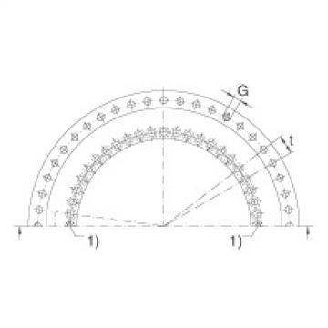 Axial/radial bearings - YRTM460