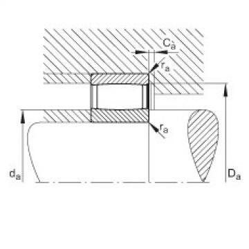 Toroidal roller bearings - C2213-XL-V