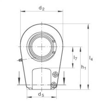 Hydraulic rod ends - GIHRK90-DO