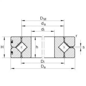Crossed roller bearings - SX0118/500