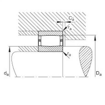 Toroidal roller bearings - C40/710-XL-M