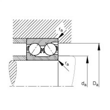 Angular contact ball bearings - 3218