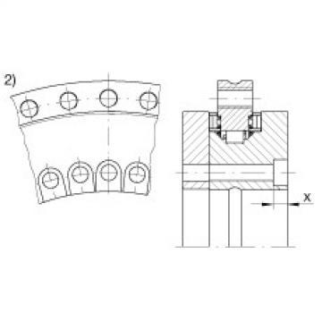 Axial/radial bearings - YRT100