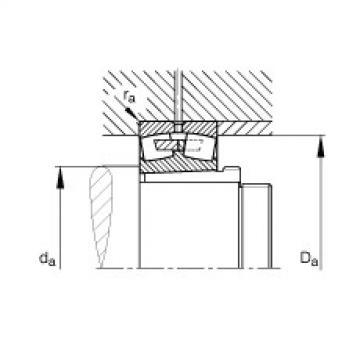 Spherical roller bearings - 231/560-BEA-XL-K-MB1 + AH31/560A-H