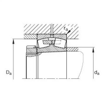 Spherical roller bearings - 23944-S-K-MB