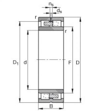 Cylindrical roller bearings - NNU4940-S-M-SP