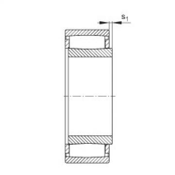 Toroidal roller bearings - C31/710-XL-M1B