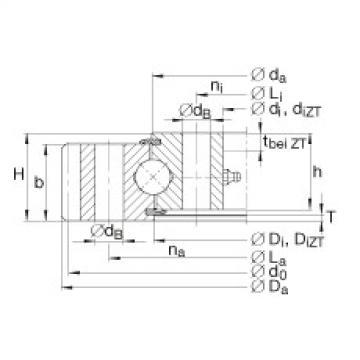 Four point contact bearings - VA250309-N