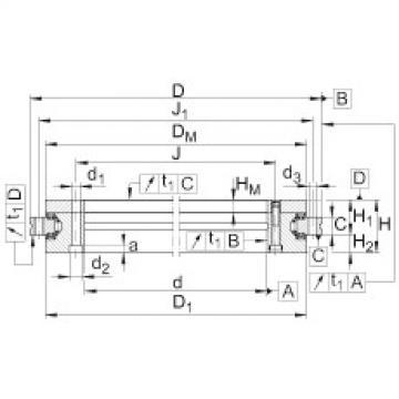 Axial/radial bearings - YRTSM200