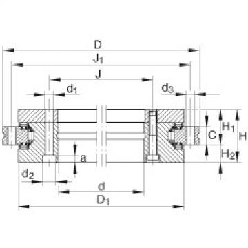 Axial/radial bearings - YRTS460